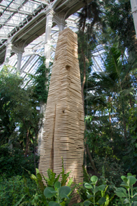 Crack and Warp Column. David Nash