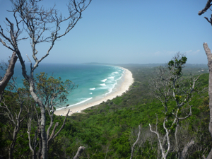 view from Byron Bay lighthouse
