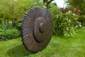 'Voyager', a bronze by Charlotte Mayer FRBS