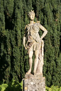 Statue at Hinton Ampner