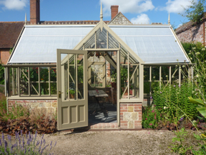 Alitex greenhouse at the Walled Garden, Cowdray